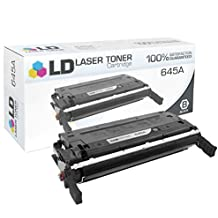 LD Remanufactured Replacement Laser Toner Cartridge for Hewlett Packard C9730A (HP 645A) Black for the Color LaserJet 5500n, 5550hdn, 5500dtn, 5500, 5550dtn, 5500dn, 5550n, 5550, 5550dn, 5500hdn