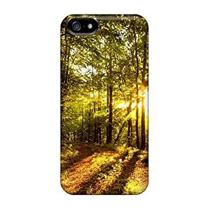 Case Cover The Sun Forest/Fashionable Case For Iphone 5/5s