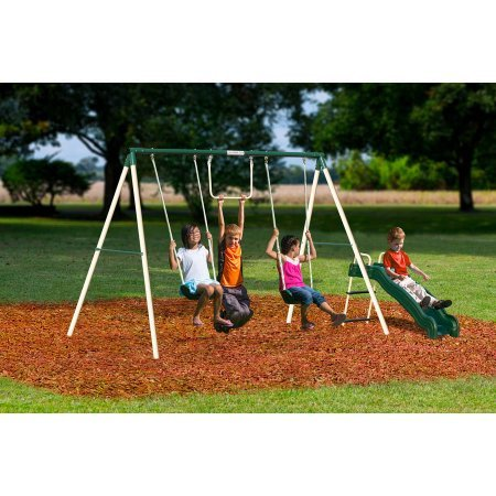 Flexible Flyer Outside Fun II Metal Swing Set