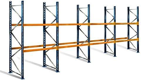 palé Estantería con 3 niveles, 4 m de altura, 11,2 m ancho ...
