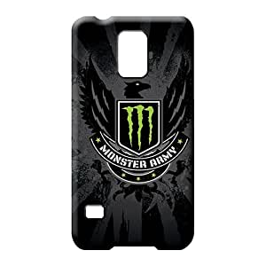 samsung galaxy s5 phone cases covers Skin Excellent Fitted New Arrival monster army logo