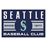 FANMATS 18483 Seattle Mariners Baseball Club Starter Rug