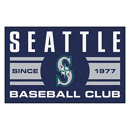 [FANMATS 18483 Seattle Mariners Baseball Club Starter Rug] (Seattle Mariners Baseball Rug)