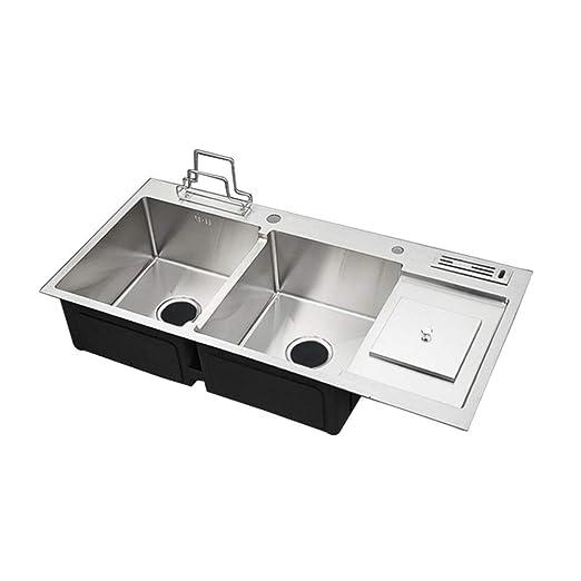 Ryyland-Home Sink Fregadero de Acero Inoxidable Fregadero de ...