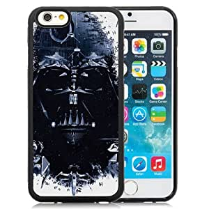 NEW Unique Custom Designed iPhone 6 4.7 Inch TPU Phone Case With Star Wars Darth Vader Spaceships_Black Phone Case
