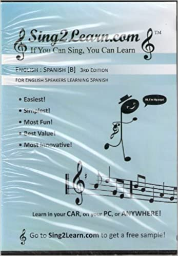 Sing2Learn: English:Spanish [B] for English Speakers