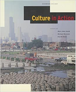 Book Culture in Action: A Public Art Program of Sculpture Chicago by Michael Brenson (1995-04-01)