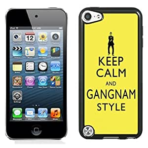 Lovely and Durable Cell Phone Case Design with Keep Calm and Gangnam Style PSY iPod Touch 5 Wallpaper Kimberly Kurzendoerfer