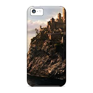 Castle Case Compatible With Iphone 5c/ Hot Protection Case