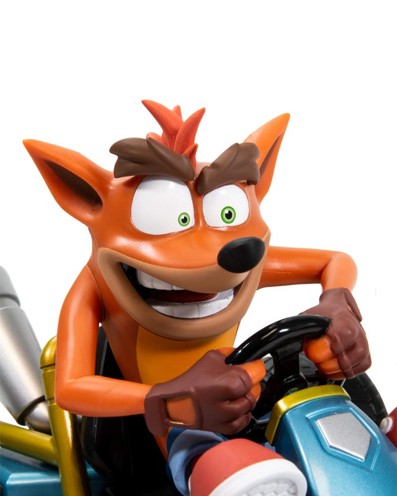 Crash Team Racing, Official Crash Bandicoot Merchandise - CTR Nitro-Fueled Incense Holder/Burner Collectible by Crash Bandicoot (Image #6)