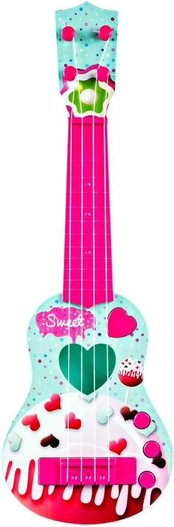 Foxom Guitarra Electrica Niños - 4 Cuerdas Infantil Rock Guitarra ...