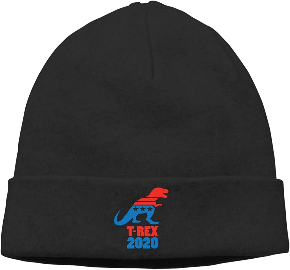 Mens/&Womens Vote T-Rex for 2020 for Soft Knit Beanie Caps