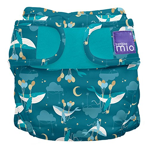 Bambino Mio, Miosoft Cloth Diaper Cover, Sail Away, Size 2 (21lbs+)