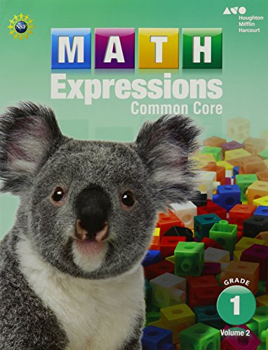 Math Expressions: Student Activity Book, Volume 2 (Softcover) Grade 1
