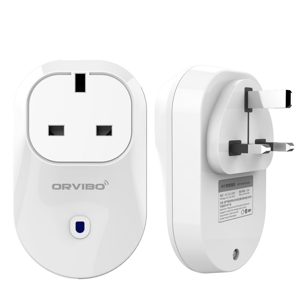 Orvibo S25 WiFi Smart Socket Work with Alexa Mini Outlet Plug, Turn ON/Off Electronics from Anywhere Black Friday Deal ORS25-UK (White) Shenzhen ORVIBO Electronics Co. Ltd.