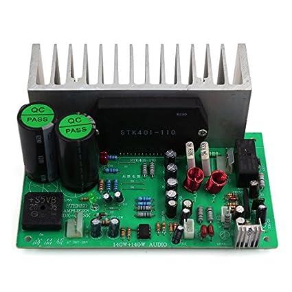 Estéreo eDealMax 140W + 140W de alta fidelidad de Audio Junta Amplificador de Potencia