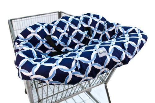 Itzy Ritzy Sitzy Shopping Cart and High Chair Cover, Fresh Bloom GC8067A