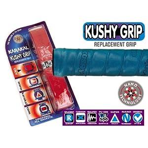 Karakal Kushy Replacement Grip, 1 pack Asst. Colors
