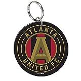 Atlanta United FC WinCraft Black & Red Circular Premium Acrylic Keychain
