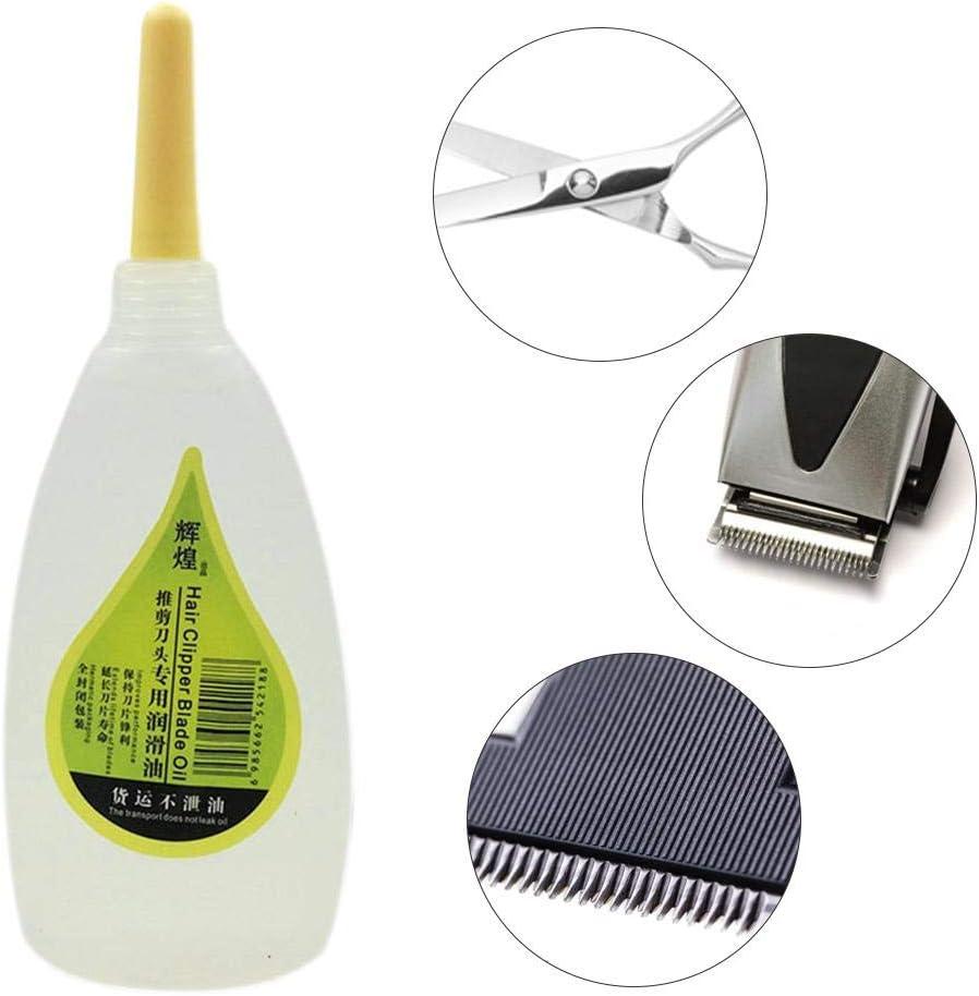 mementoy Hair Clipper Oil Professional Blade Maintenance Oil Shaving Machine Oil for Electric Hair Clipper Scissors Tool Prevenir la oxidación para el salón intensely