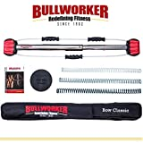 """Bullworker 36"""" Bow Classic -Full Body Workout- Portable Home Gym Isometric Exercise Equipment for Fast Strength Training Gains. Cross Training Fitness; Chest, Back, Arms, and Abs Exercise Machine"""