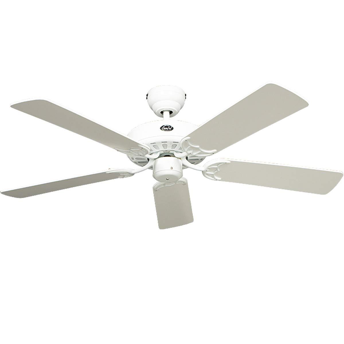 CasaFan Royal 103 Wir Haushalt Blade Fan 48 W Weiß – Haushalt Fans (weiß, 48 W, AC, 1030 mm, 270 mm, 5,9 kg)