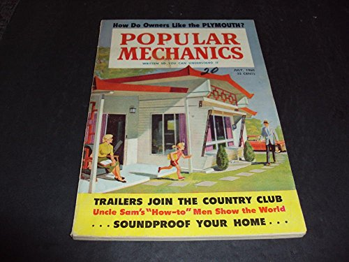 Popular Mechanics July 1960 Trailers, Plymouth's