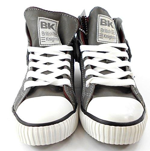 British Knights Kinder Sneaker Sportschuh ROCO CHD B32-3730C-09 Grau