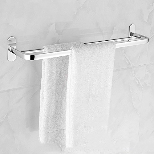 Aluminum Alloy 50cm Space Double Holder Towel Rails - 5