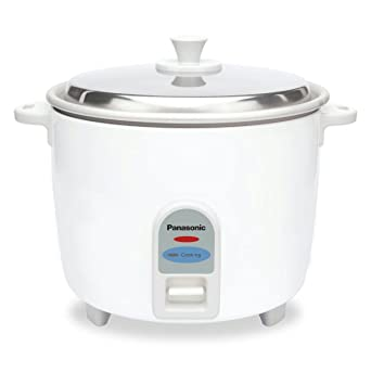 buy panasonic sr wa 18 j 660 watt rice cooker white online at low rh amazon in Small 2 Cup Rice Cooker Panasonic Electric Rice Cooker
