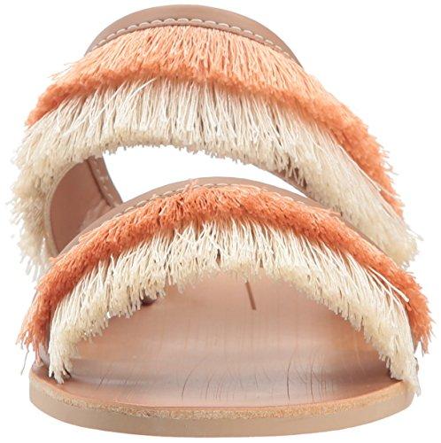 Dolce Vita Dames Haya Slide Sandal Natural Fringe