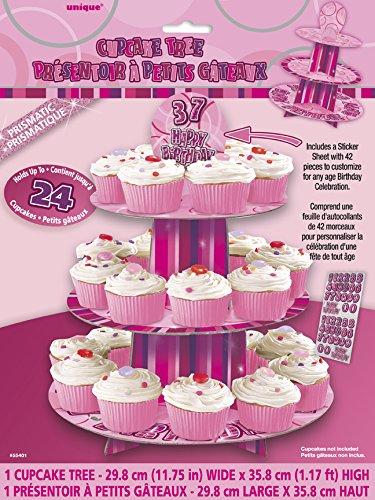 (Pink) - Customisable Glitz Pink Cupcake Stand   B00BCXZJ7S