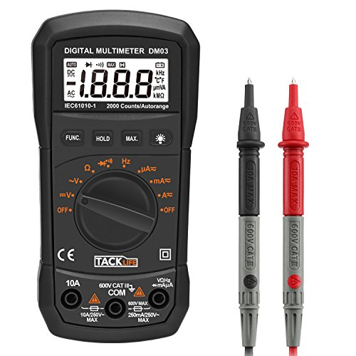 Home Voltage Tester : Cheap resistance meters tools home improvement