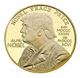 This 1.6 inch Gold Plated Federal Presidential collectable coin is a tribute to our 45th American President who is about to win the Nobel Peace Prize. This Donald Trump Commemorative Collectors Edition Coin by American Art Classics is unique in its d...