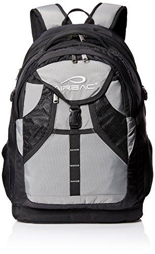 AIRBAC Technologies AirTech Notebook Backpack, Grey, 15