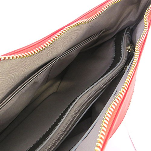 Designer-tasche Ted Lapidusvintage red - 40x25x12 cm.