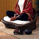 Gaiam Rattan Meditation Chair