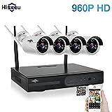 Hiseeu Wireless CCTV System 960P 4ch Pow...