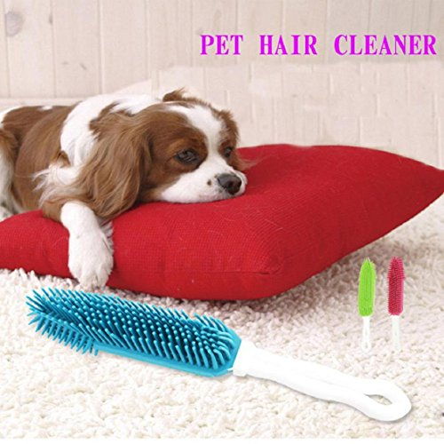 Naladoo Pet Grooming Brush- Gentle Deshedding Brush - Efficient Pet Hair Beauty - Perfect For Dogs & Cats With Long & Short - Shops Pump Short At