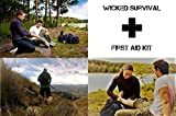 FIRST AID KIT 120 PIECE BAG WICKED SURVIVAL Gear