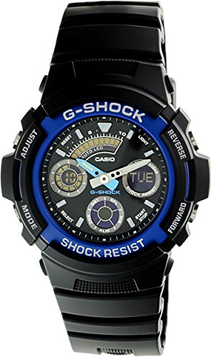 New Watch Design (G-Shock Men's Watches G-Shock Analog-Digital New Case Design AW-591-2ADR - WW)