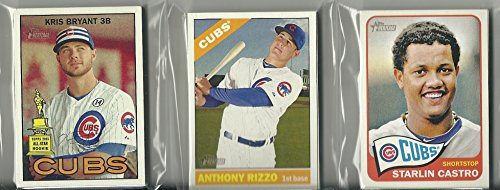 2014 2015 & 2016 Topps Heritage Chicago Cubs 3 Team Set Lot 43 Cards by Topps Heritage