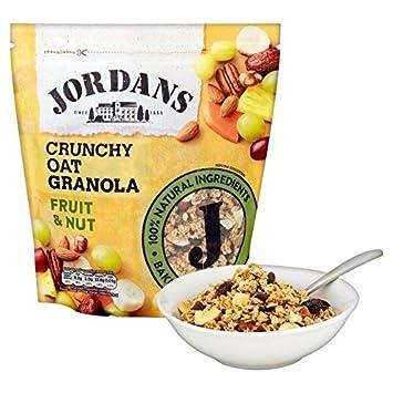 606a3e1229bc8 Amazon.com: Jordans Honey Baked Crunchy Oat Granola Fruit & Nut 750G ...