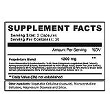 EBYSU Resveratrol - 1200mg Maximum Strength Trans Resveratrol Antioxidant Supplement - Pomegranate Green Tea Quercetin Grape Seed Extract and Acai - 60 Vegan Capsules Discount