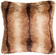 Safavieh Pls716A-2020 Faux Luxe Brick Pillow, color Chocolate, pack of/paquete de 1