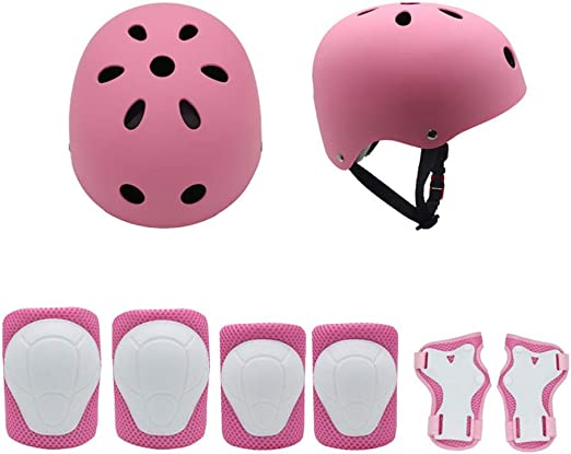 Casco de Ciclista Bicicleta for niños Casco y Almohadillas ...