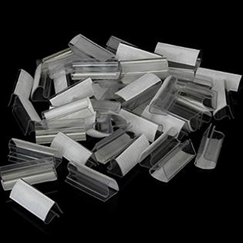 """Table Skirting Clip – UG Clip for ¾"""" to 1"""" Thick Tables - Package of 100"""