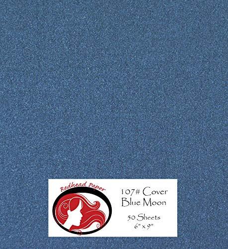 Blue Moon Metallic Paper (6 x 9 inch) 50 Sheets