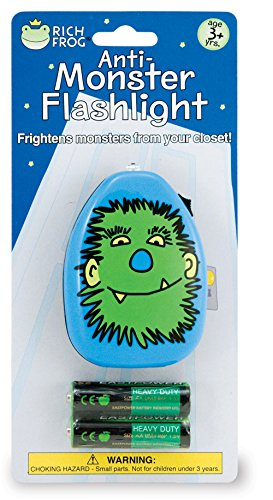 Rich Frog Anti-Monster Flashlight with Batteries