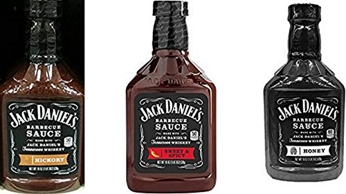 Jack Daniel's Barbecue Sauce Variety Bundle, 19 fl oz  inclu